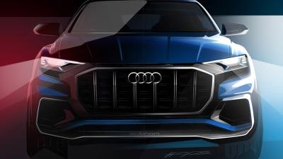 New Audi Q8 To Break Cover At 2017 Detroit Motor Show
