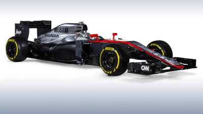 McLaren-Honda MP4-30 F1 Racer Revealed For 2015 Championship: Video