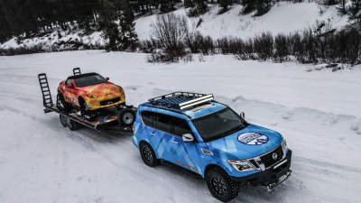 Nissan Presents A Winter Wonderland Of Concepts In Chicago