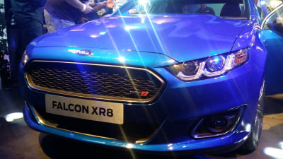 Falcon XR8 Goes Public, New Falcons Now On The Roads