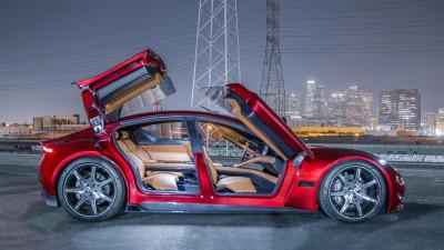 Fisker unveils 575kW Tesla-killer
