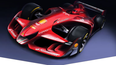 Ferrari Takes A Punt On F1 Car Of The Future