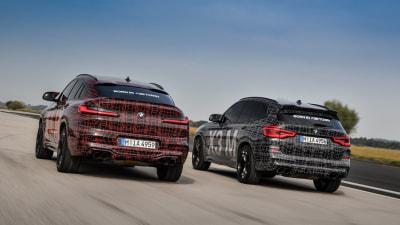 BMW reveals X3M and X4M