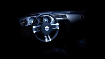 Ford Releases 2010 Mustang Dashboard Teaser Image