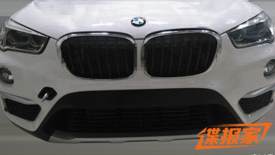 New BMW X1 Spied Without Disguise