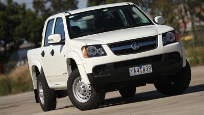 Holden Colorado 4×2 LX Crew Cab Review