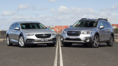 Holden Calais V Tourer v Subaru Outback 3.6R Premium head-to-head review