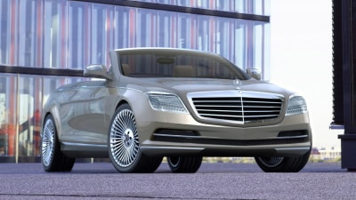 2013 S-Class To Include Convertible And Coupe Variants: Report