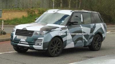 2013 Range Rover Spied Testing, Reveals Sleek New Shape