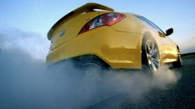 Hyundai Genesis Coupe Images From Superbowl Commercial