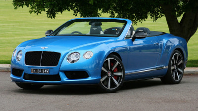 2015 Bentley Continental GTC V8 S Convertible Review