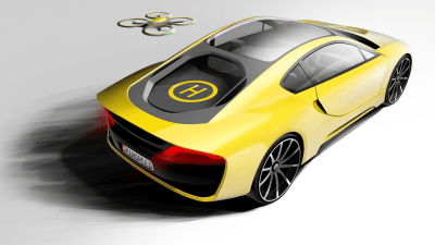 Rinspeed Etos Concept Set For 2016 CES Unveiling – Has Its Own Drone