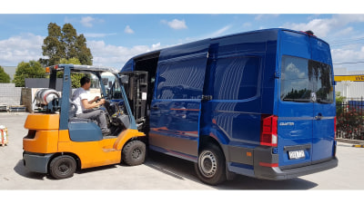 Volkswagen Crafter TD410 Short Haul Review