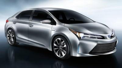 2014 Toyota Corolla Sedan Previewed By Yundong Shuangquing II Concept