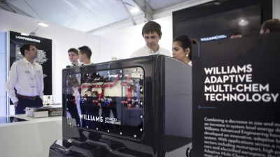 Lighter, more powerful: Williams debuts new battery technology