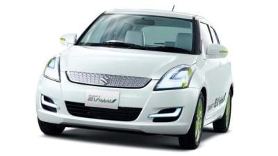 Suzuki Swift EV Hybrid Bound For Tokyo Motor Show