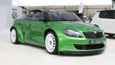 Skoda Fabia RS 2000 Roadster Concept Shown At Worthersee