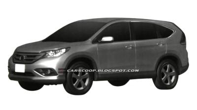 2012 Honda CR-V Revealed Further In Patent Images
