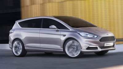 2015 Ford S-Max Vignale Unveiled In Concept Form In Milan: Video