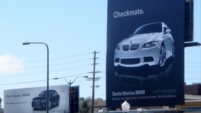 Audi And BMW At It Once Again: The Great Advertising Wars Of 2009