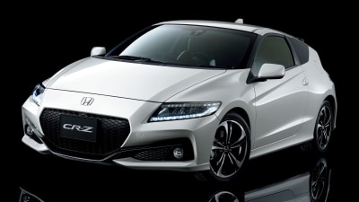 Honda CR-Z Updated With New Tech, New Face