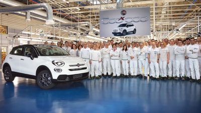 Fiat builds 500,000th 500X