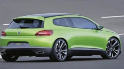 Production VW Scirocco spotted testing