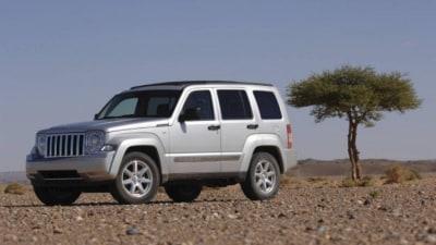 2008 Jeep Cherokee recalled