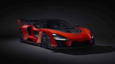 McLaren unveils Senna supercar