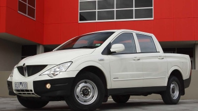 SsangYong Actyon Sports Ute Set For Safety Upgrade
