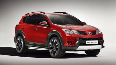 Toyota RAV4 Adventure And Auris Touring Sports Concepts Shown At Geneva