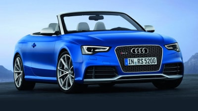 Audi RS 5 Cabriolet Revealed, Under Consideration For Australia