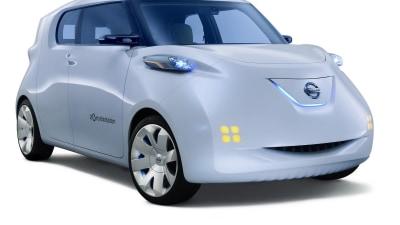 Nissan Townpod Zero Emission City Car Unveiled At Paris Auto Show