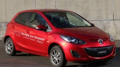 Mazda2 EV range extender first drive review