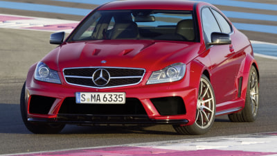 C 63 AMG Coupe Black Series Australian Pricing Announced