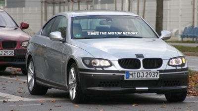 2010 BMW 3 Series Coupe Spied Testing