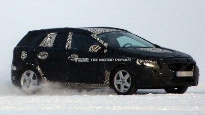 Volvo V40/V30 Spied Winter Testing