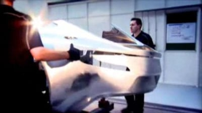 Aston Martin One-77 Gets Nekkid… On Video