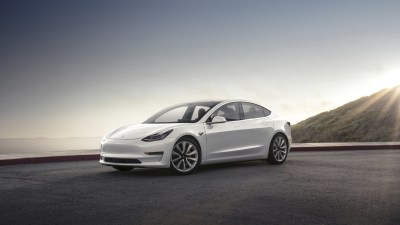 Tesla Model 3 takes longer to brake than a Ford F-150