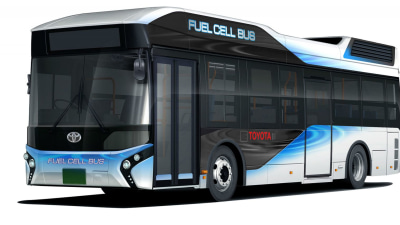 Toyota Fuel Cell Buses On The Road From Next Year