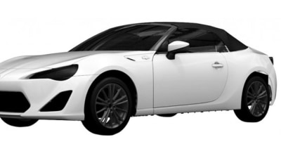 Toyota 86 Convertible Patent Images Appear Online
