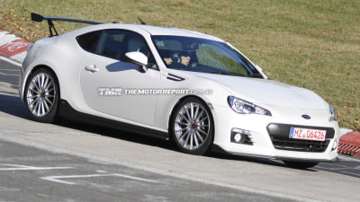 Tuned BRZ Prototype Spotted At 'Ring