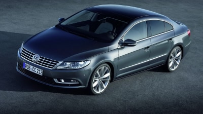 2012 Volkswagen CC Revealed, Australian Debut Next Year
