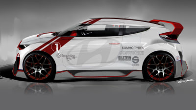 Hyundai Veloster Turbo Boosted To 298kW For SEMA Show