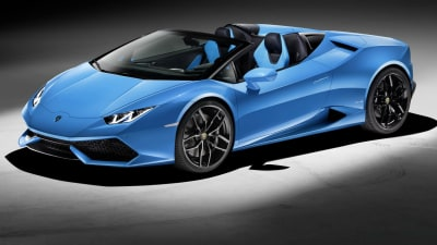Lamborghini Huracan LP 610-4 Spyder Shows Off At Frankfurt Motor Show