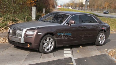 2012 Rolls Royce Ghost Stretched, Spied Testing