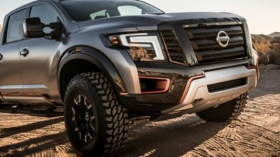 Nissan muscles up with Titan Warrior