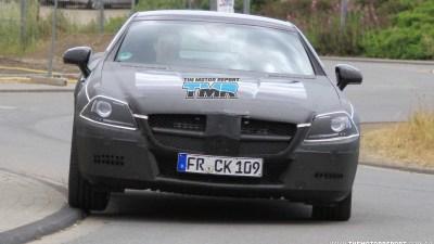 2011 Mercedes-Benz SLK AMG Spied Testing