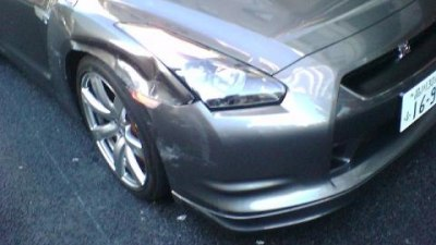 Another dented R35 GT-R
