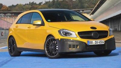 2013 Mercedes-Benz A 45 AMG Teased